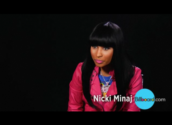 | Nicki Minaj goes to the Billboard offices to chat about her debut album Pink |