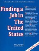 Download Finding a job in the United States