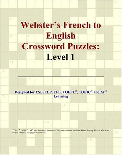 Download Webster's French to English Crossword Puzzles