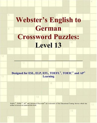 Download Webster's English to German Crossword Puzzles
