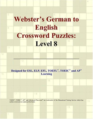 Webster's German to English Crossword Puzzles