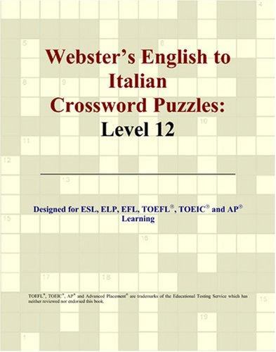 Download Webster's English to Italian Crossword Puzzles