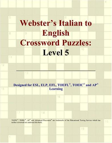 Download Webster's Italian to English Crossword Puzzles