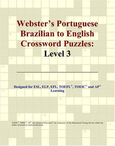 Download Webster's Portuguese Brazilian to English Crossword Puzzles