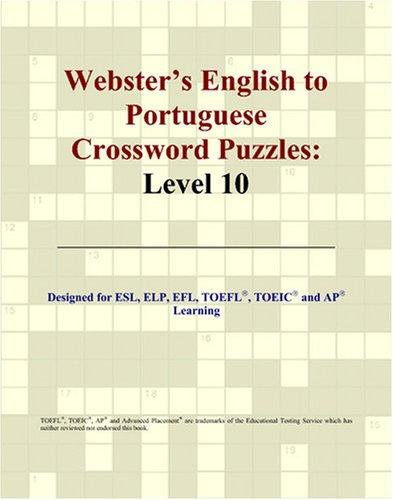 Download Webster's English to Portuguese Crossword Puzzles