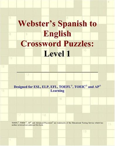 Webster's Spanish to English Crossword Puzzles