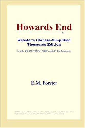 Download Howards End (Webster's Chinese-Simplified Thesaurus Edition)