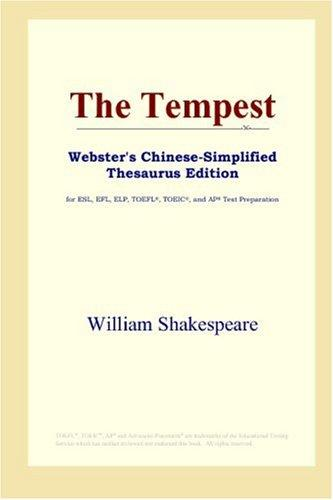 The Tempest (Webster's Chinese-Simplified Thesaurus Edition)
