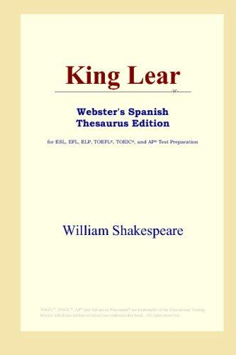 Download King Lear (Webster's Spanish Thesaurus Edition)