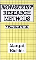 Download Nonsexist research methods
