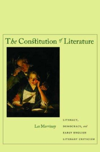 Download The Constitution of Literature