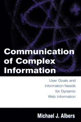 Download Communication of Complex Information