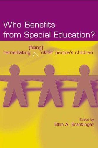 Download Who Benefits From Special Education