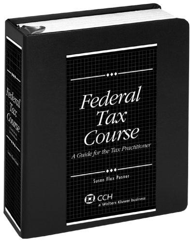 Download Federal Tax Course