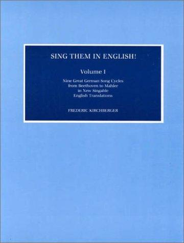 Sing Them in English!