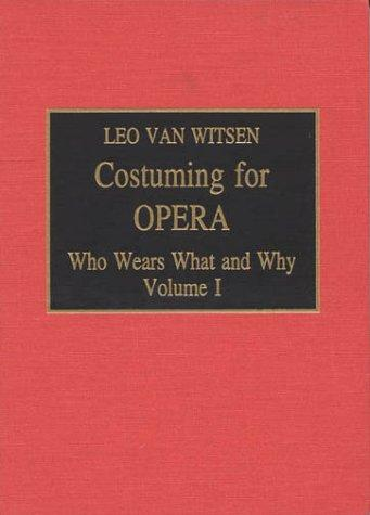 Download Costuming for opera