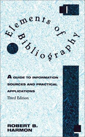Download Elements of bibliography