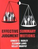 Download Effective summary judgment motions