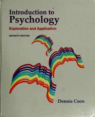 Cover of: Introduction to psychology | Dennis Coon