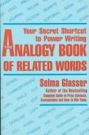 The analogy book of related words by Selma Glasser