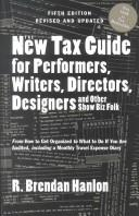 The new tax guide for performers, writers, directors, designers, and other show biz folk