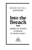 Into the breach by Dorothy Schneider