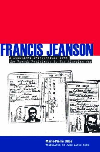 Francis Jeanson by Marie-Pierre Ulloa